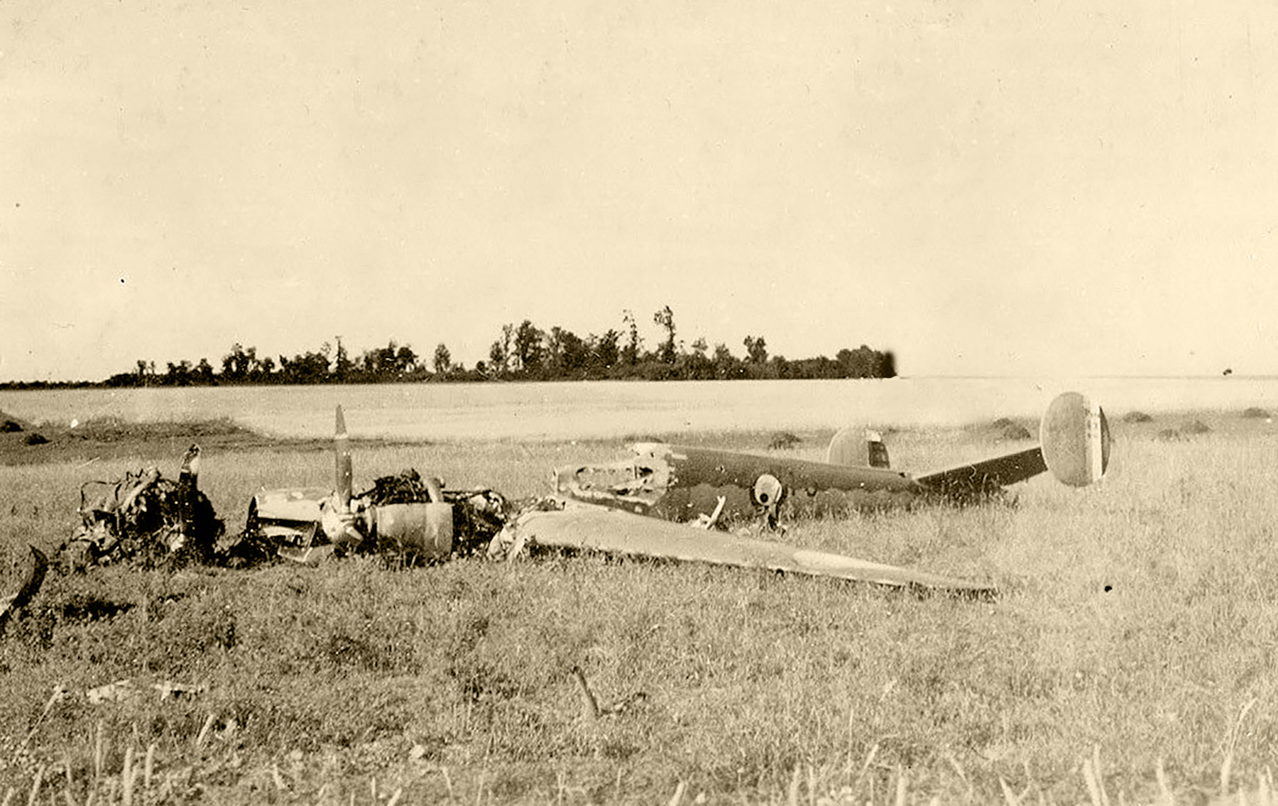 French Airforce Potez 630 shot down during the air war over France 1940 ebay 01