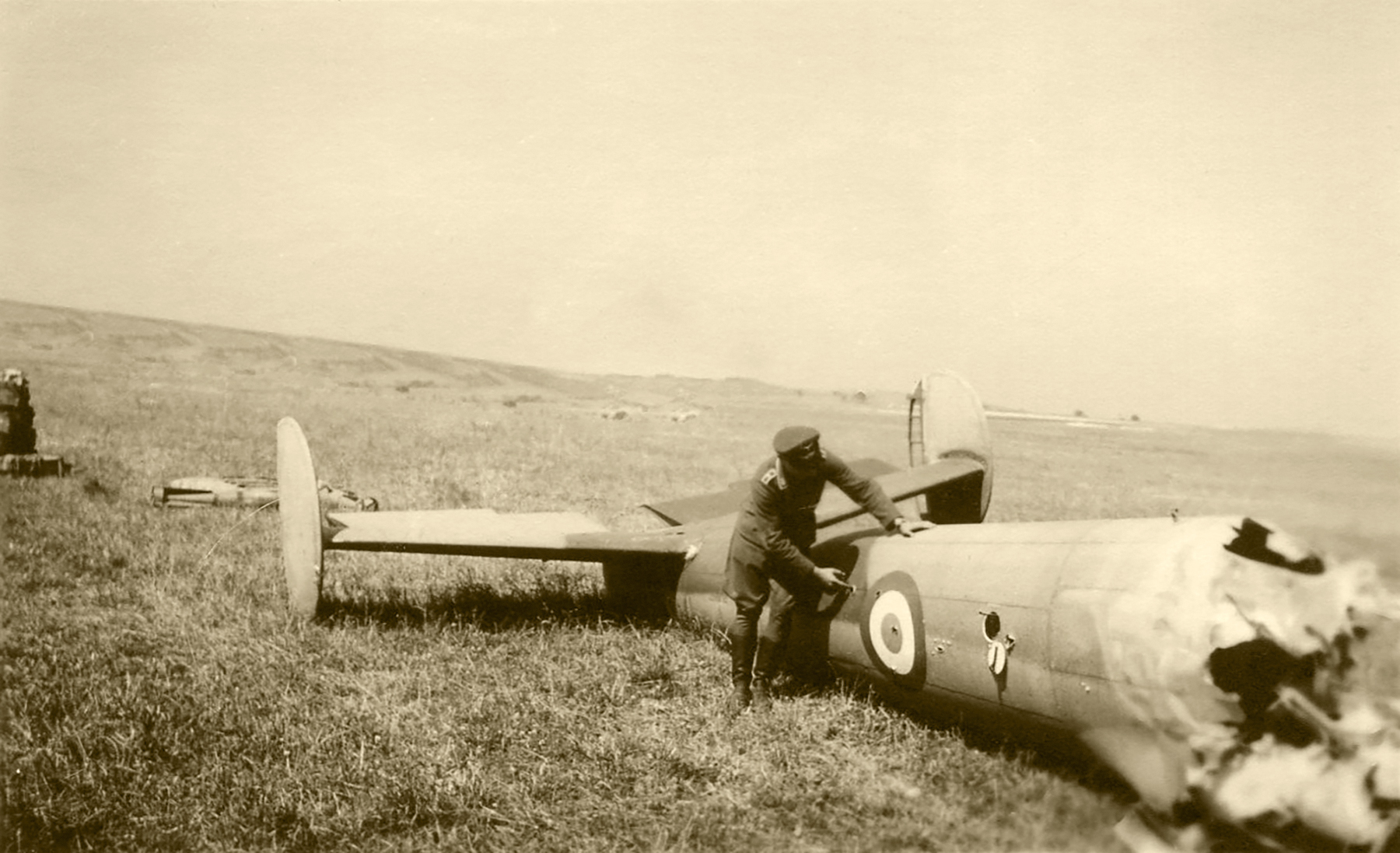 French Airforce Potez 630 shot down during the air war over France 1940 ebay 02