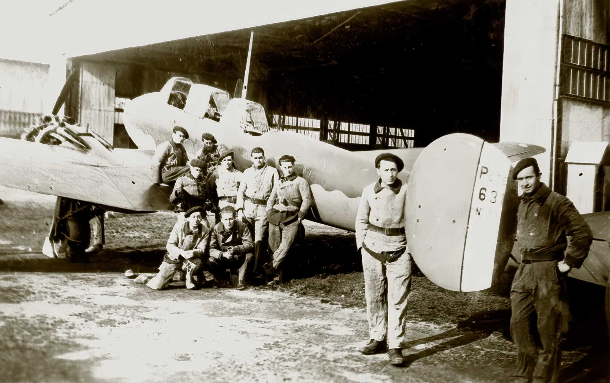 French Airforce Potez 631 sn210 with French crew phoney war France 1940 ebay 01