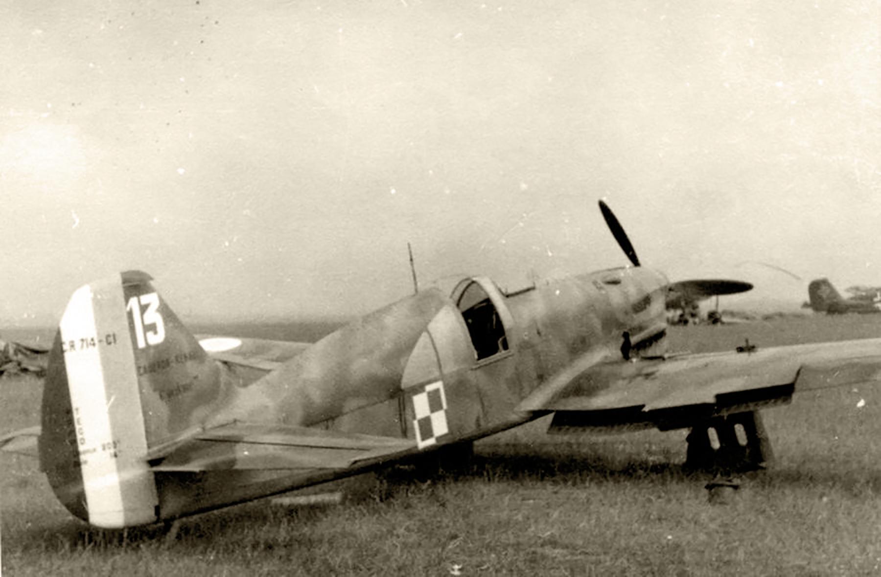 French Caudron CR 714C1 Cyclone GC I.145 White 13 Polish AF France 1940 web 01