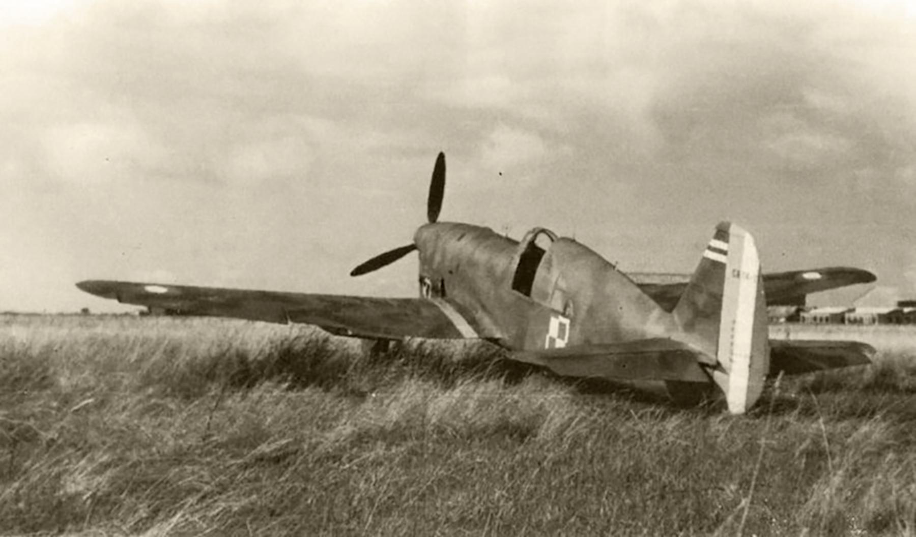 French Caudron CR 714C1 Cyclone Polish AF France 1940 web 01