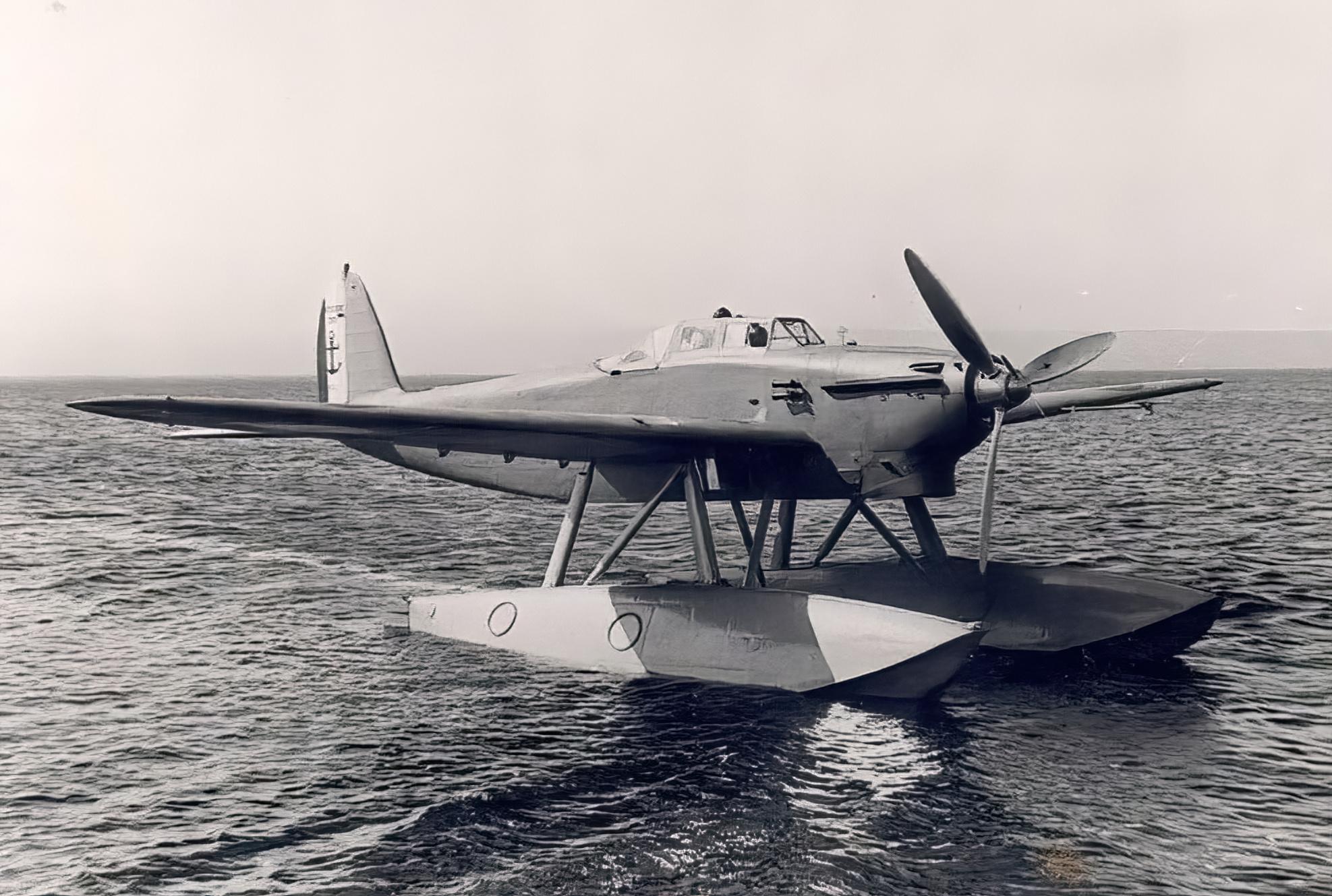 French Navy Latecoere 298 sn01 Aeronautique Navale prototype torpedo bomber seaplane ebay 02