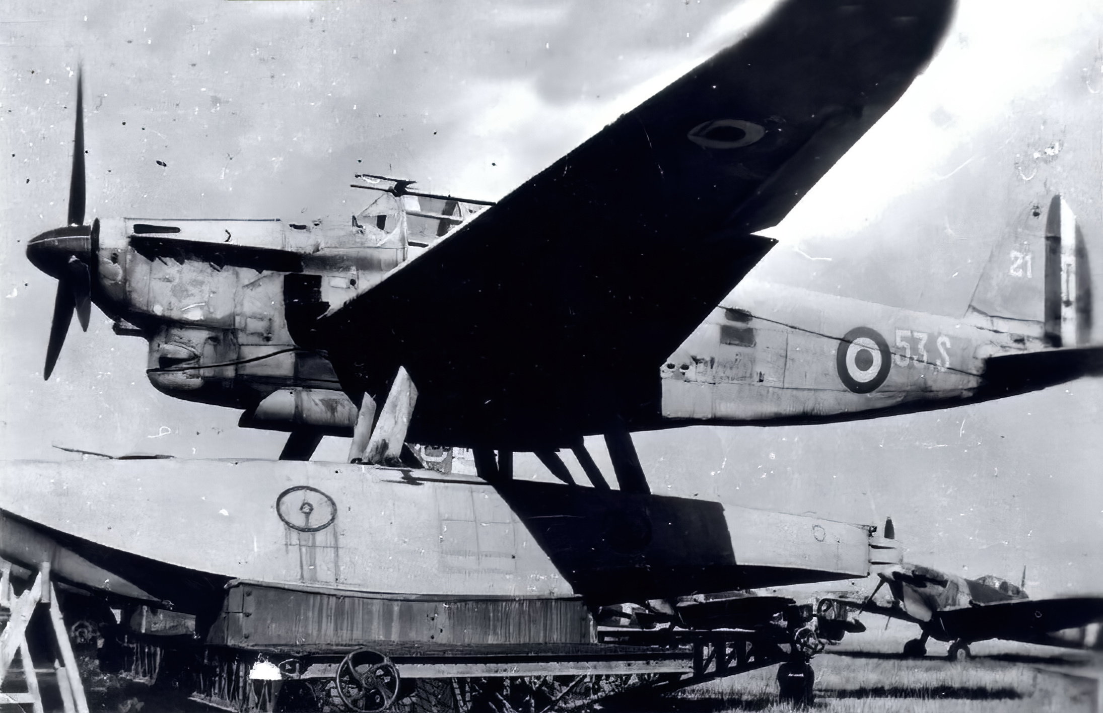 French Navy Latecoere Late 298 53S21 Torpedo bomber seaplane post war 1945 01