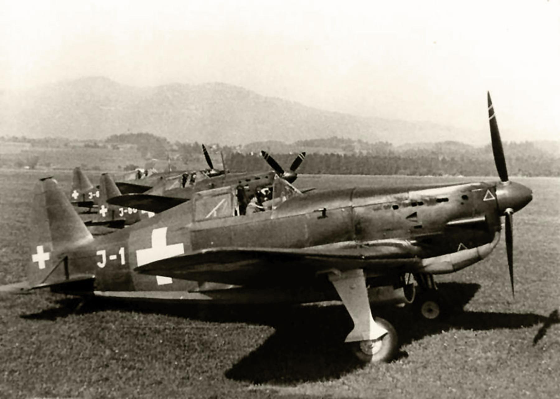 French built Morane Saulnier MS 406 J 1 Swiss AF web 01