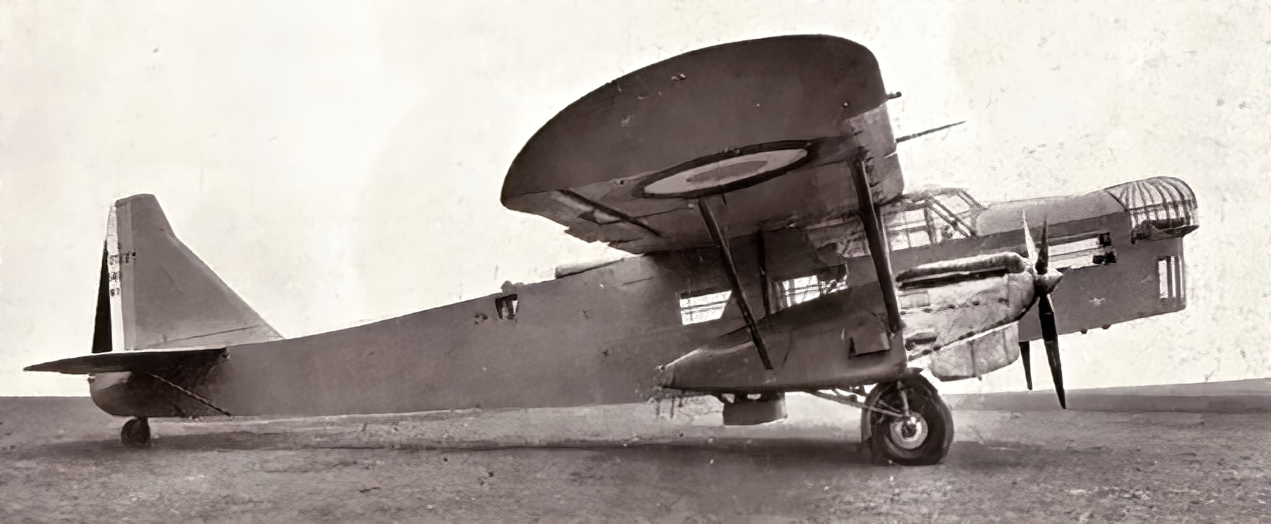 French built Potez 54 prototype fitted with 2 Hispano Suiza 650HP engines 1933 wiki 01