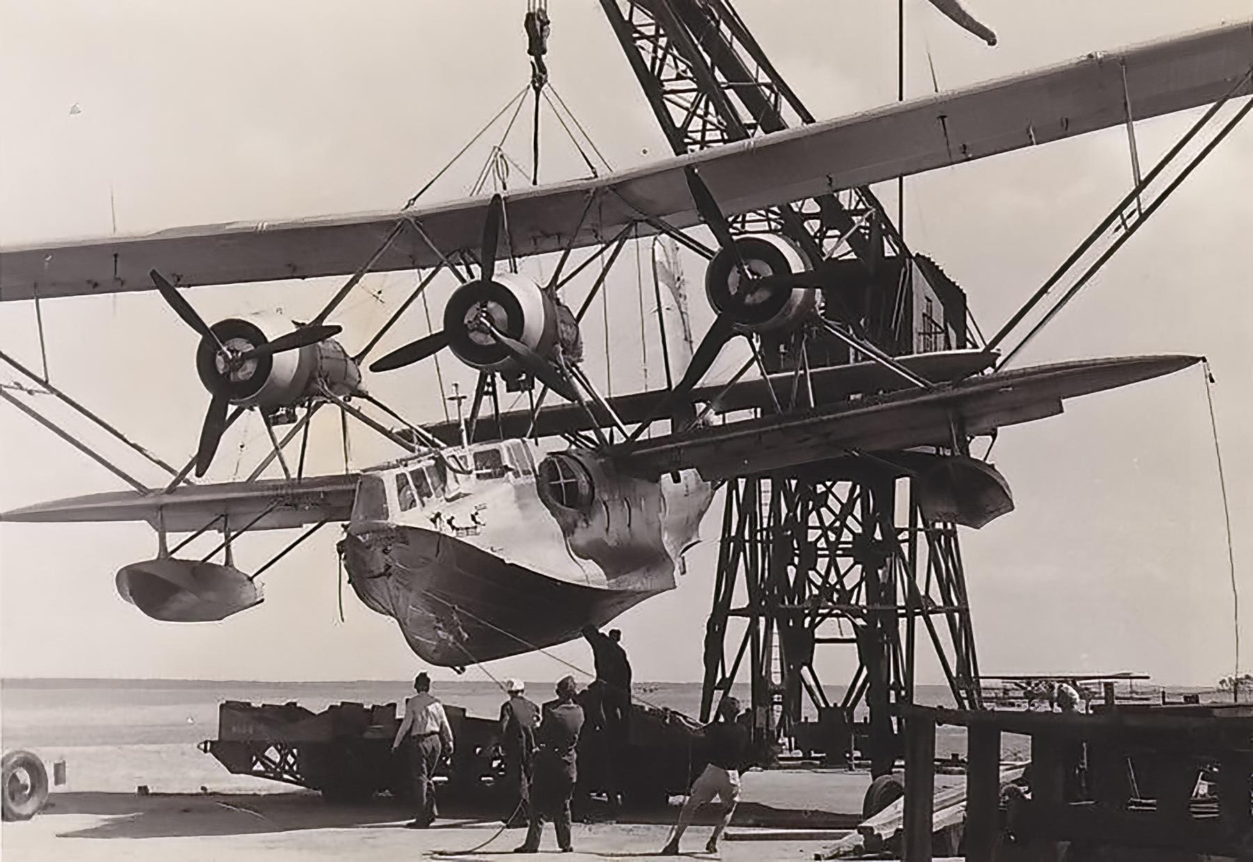Luftwaffe Seenotdienst Breguet Bre 521 based at Brest after the fall of June France 1940 ebay 02