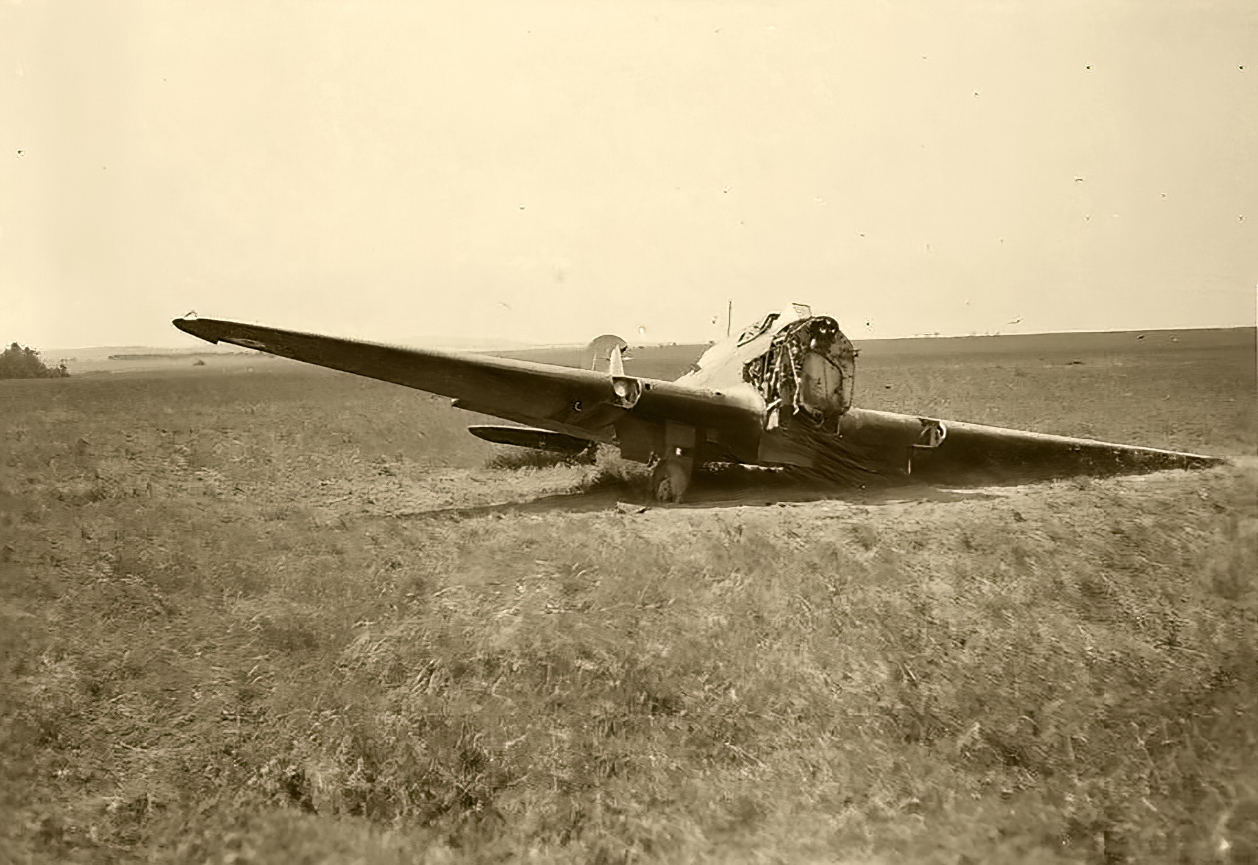 RAF Fairey Battle I left abandoned during the fall of France May Jun 1940 ebay 01