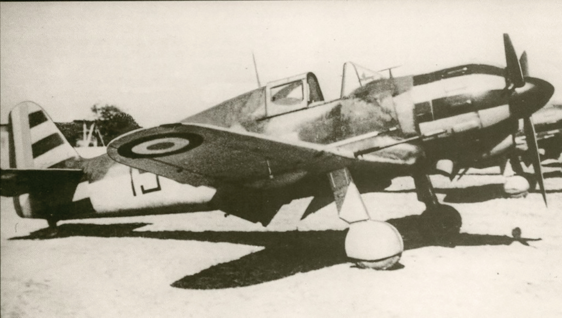 Vichy French Airforce Bloch MB 152 Red 15 ebay 01