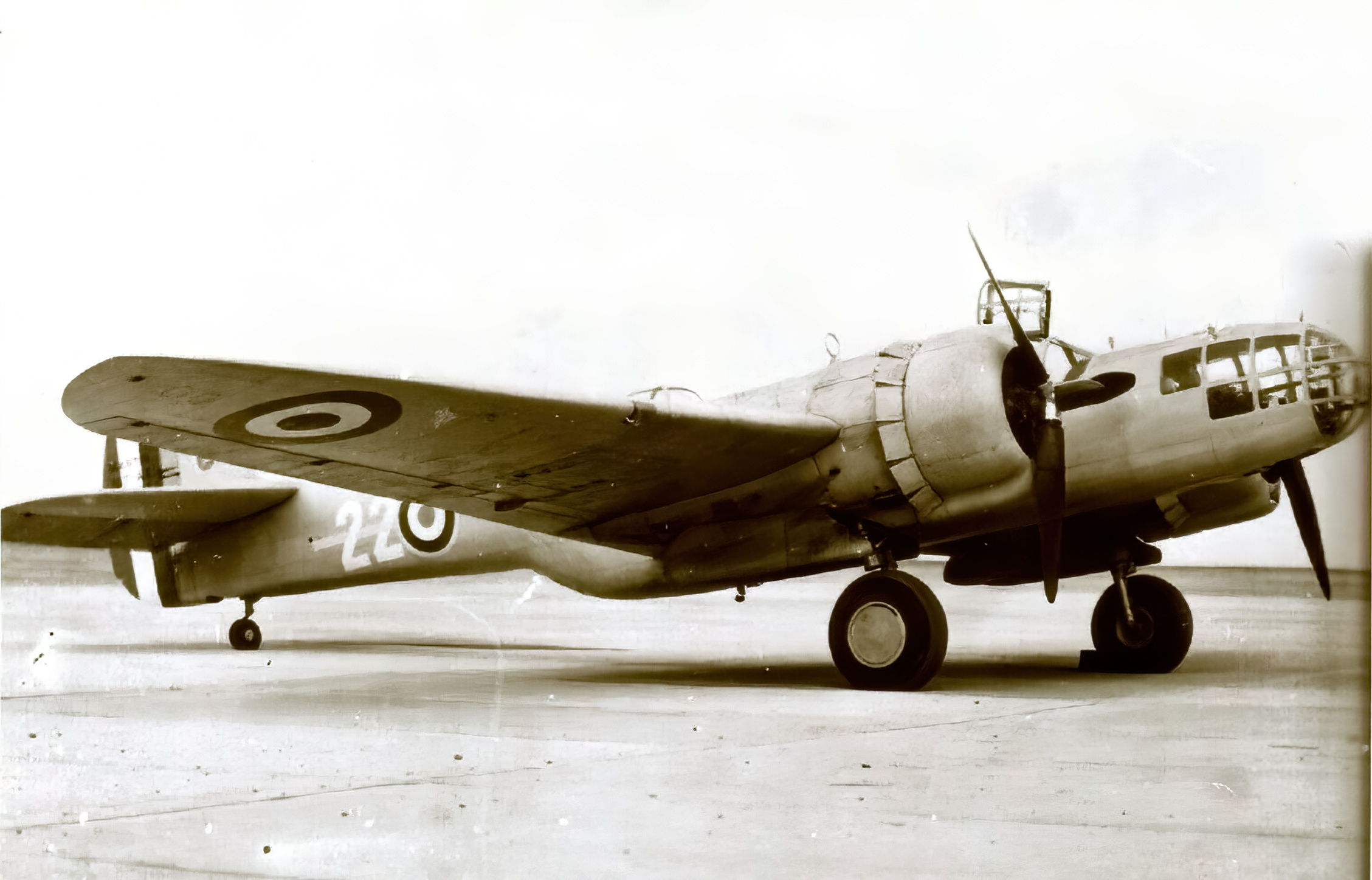 Vichy French Airforce Glen Martin 167 Maryland White 22 in North Africa ebay 01
