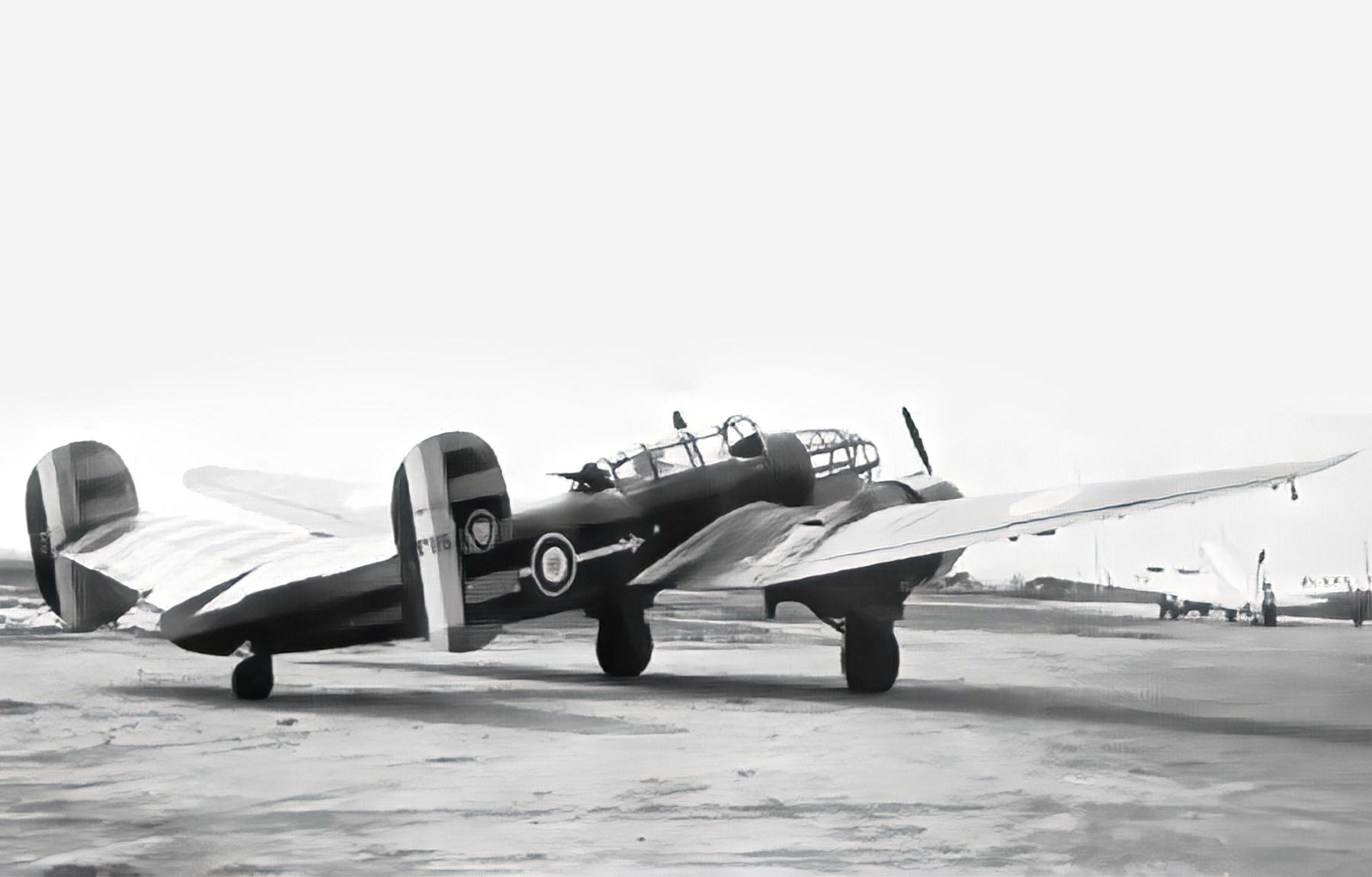 Vichy French Bloch MB 174 sn115 awaits deployment North Africa ebay 01