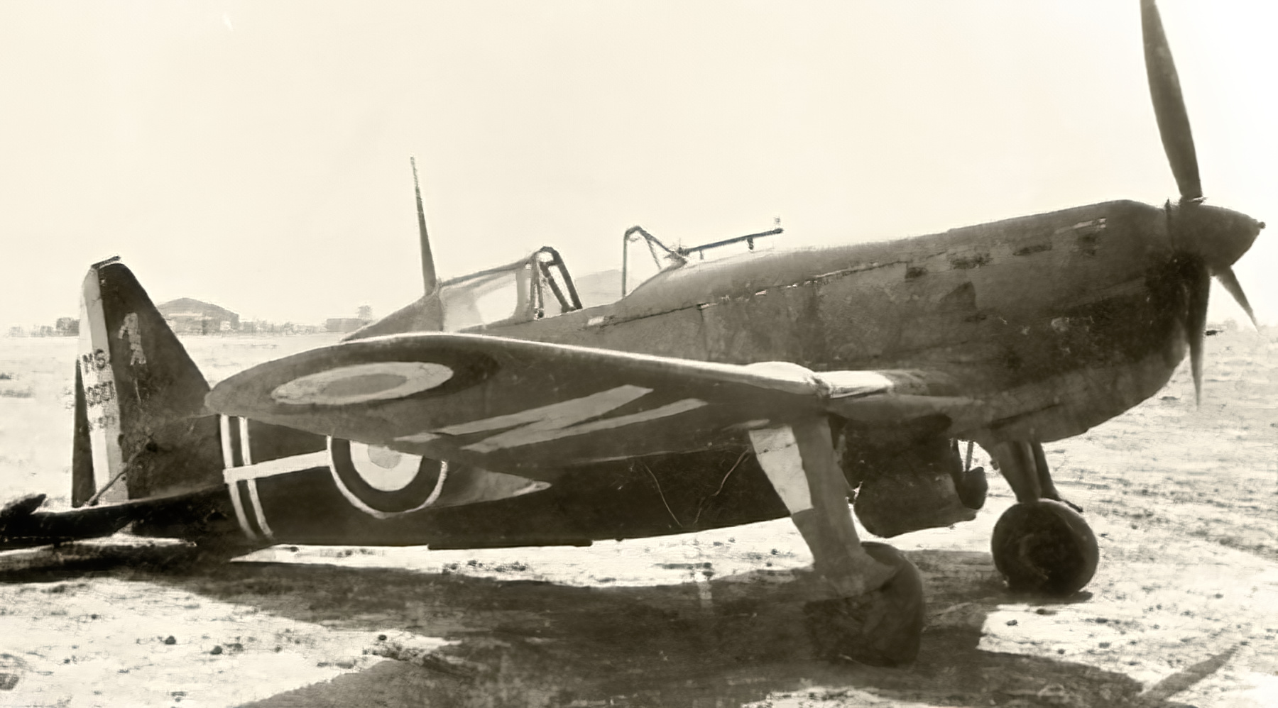 Vichy French Morane Saulnier MS 406C1 Red 1 North Africa web 01
