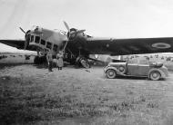 Asisbiz French Airforce Amiot 143 sits abandoned after the fall of France June 1940 ebay 05
