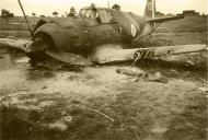 Asisbiz French Airforce Bloch MB 150 White 10 abandoned after a force landing battle of France ebay 01