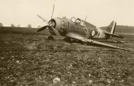 Asisbiz French Airforce Bloch MB 152 GCII.9 White 72 destroyed whilst on the ground battle of France May Jun 1940 01