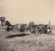 Asisbiz French Airforce Bloch MB 152C1 destroyed after force landing France May Jun 1940 ebay 02