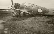 Asisbiz French Airforce Bloch MB 152C1 sits grounded at a French airbase France 1940 ebay 01
