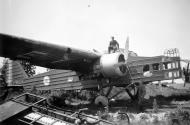 Asisbiz French Airforce Bloch MB 200 destroyed whilst on the ground battle of France May Jun 1940 ebay 01