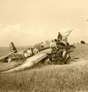 Asisbiz French Airforce Breguet Bre 690 destroyed on the ground battle of France May Jun 1940 ebay 02