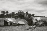 Asisbiz French Airforce Curtiss Hawk H 75A destroyed on the ground Battle of France May 1940 ebay 01