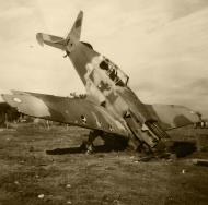 Asisbiz French Airforce Morane Saulnier MS 406 destroyed whilst grounded France May Jun 1940 ebay 01