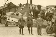 Asisbiz French Airforce Potez 63.11 being examined by Luftwaffe personel France 1940 ebay 01