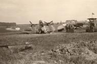 Asisbiz French Airforce Potez 63.11 destroyed whilst grounded France May Jun 1940 ebay 01