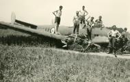 Asisbiz French Airforce Potez 630 Black 69 force landed battle of France May Jun 1940 ebay 01