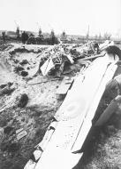 Asisbiz French Airforce plane shot down by the Germans near Calais 6th Jun 1940 NIOD