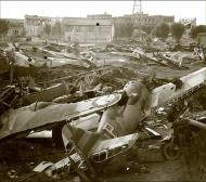 Asisbiz Vichy French scrap yard with several abandoned Morane Saulnier MS 406s ebay 01