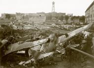 Asisbiz Vichy French scrap yard with several abandoned Morane Saulnier MS 406s ebay 02