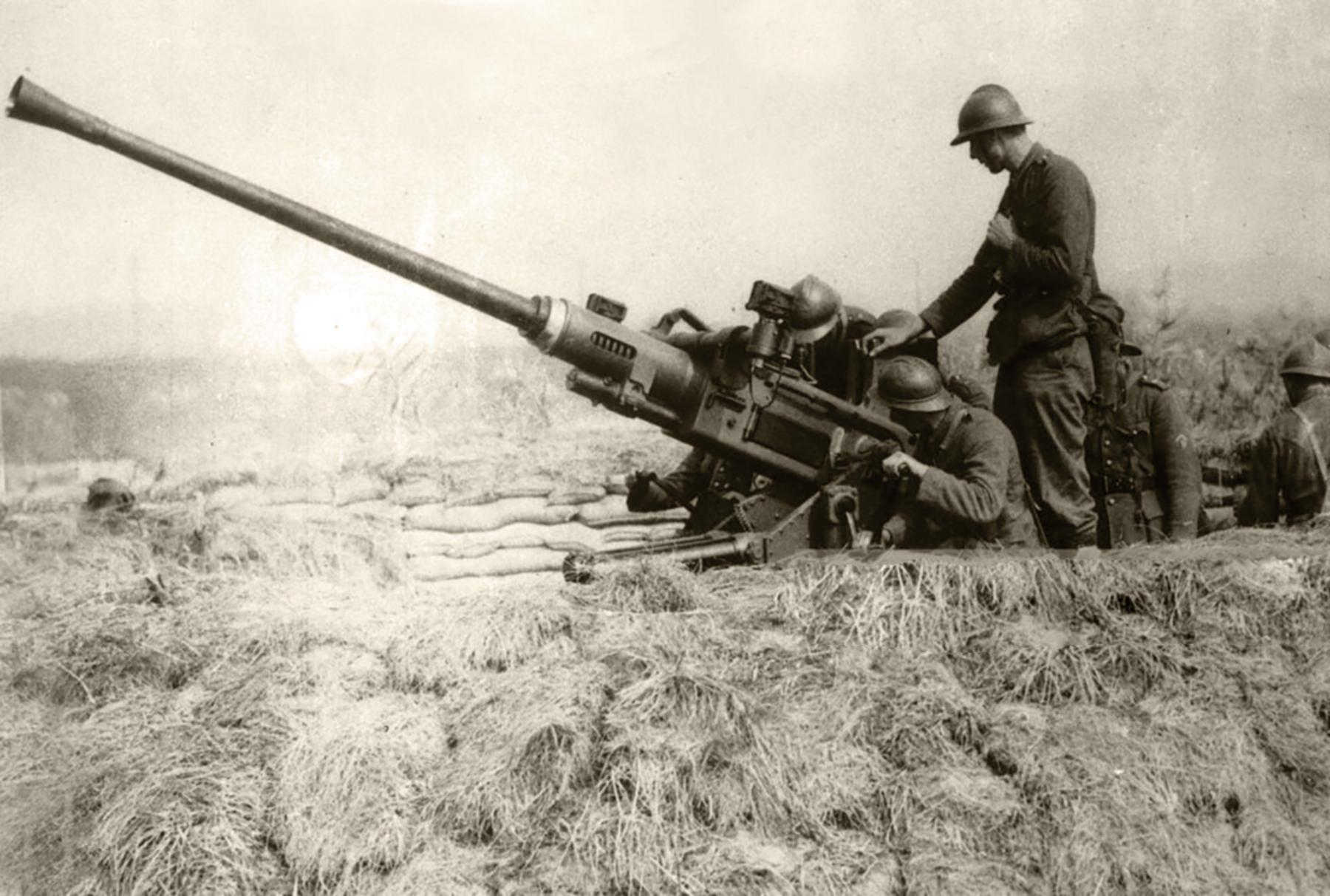 Belgian anti aircraft gun circa 1940 wiki 01