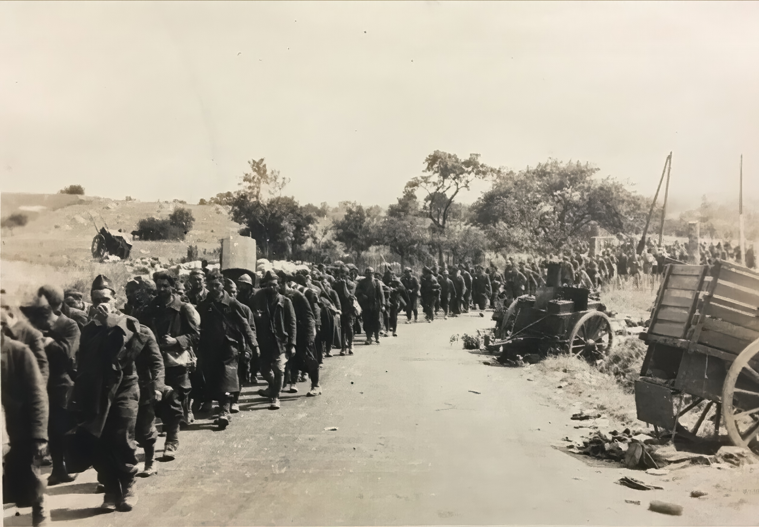 French Algerian POWs from LnAbt(H) mot 7 Algeria being interned after Frances capitulation 25th June 1940 ebay 03