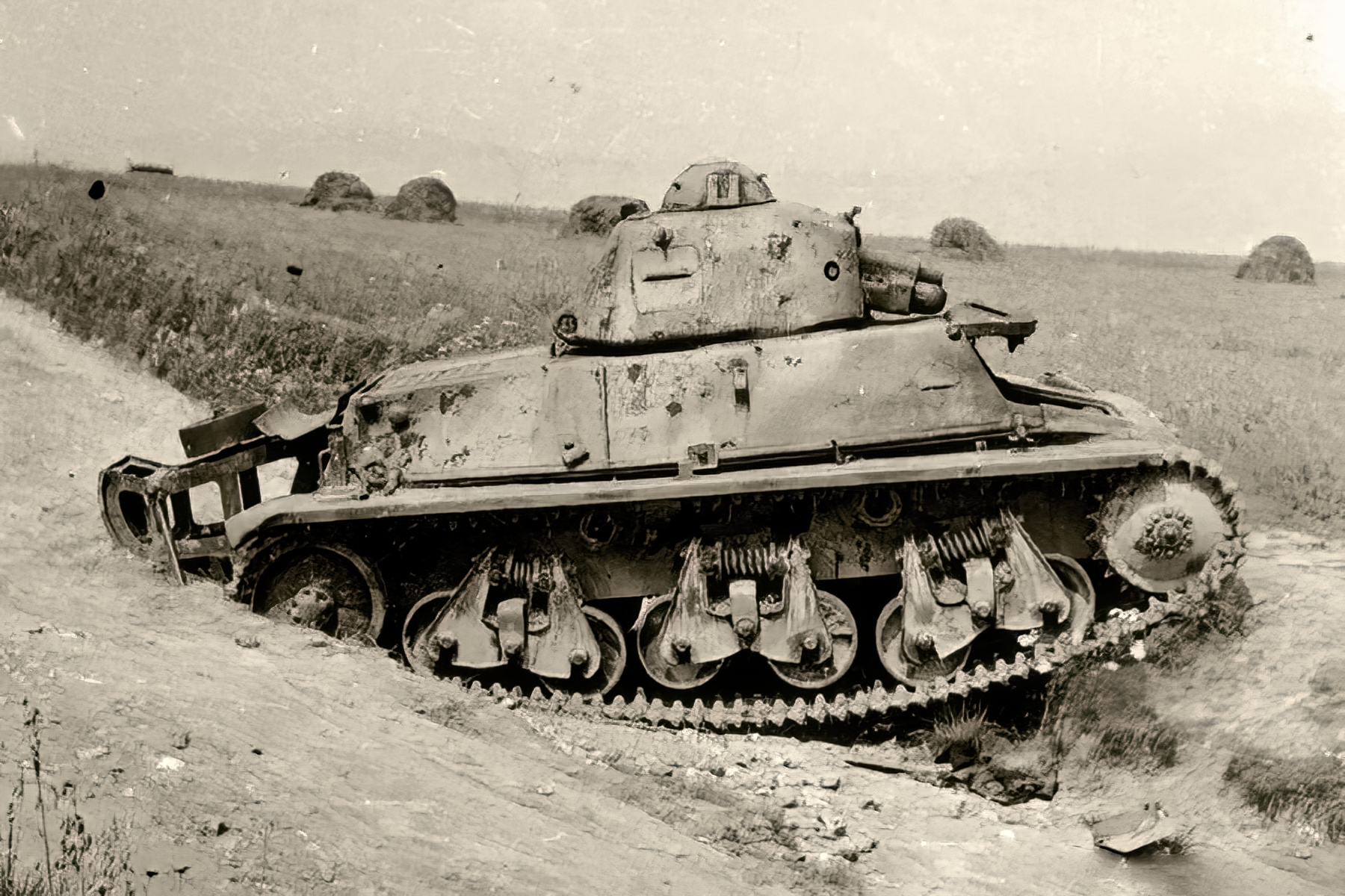 French Army Hotchkiss H39 abandoned battle of Frnce 1940 web 02