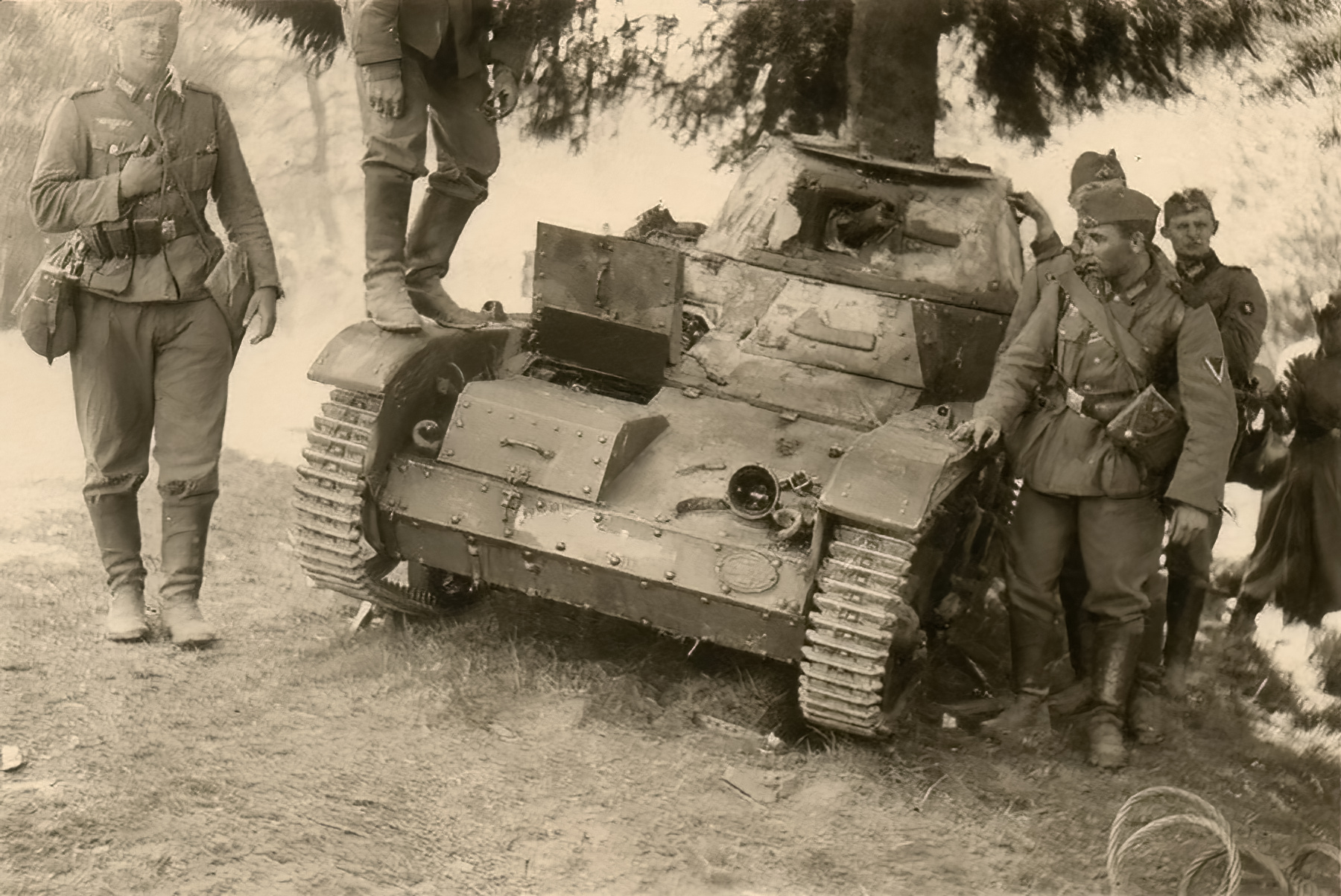 French Army Renault AMR captured battle of France 1940 ebay 01