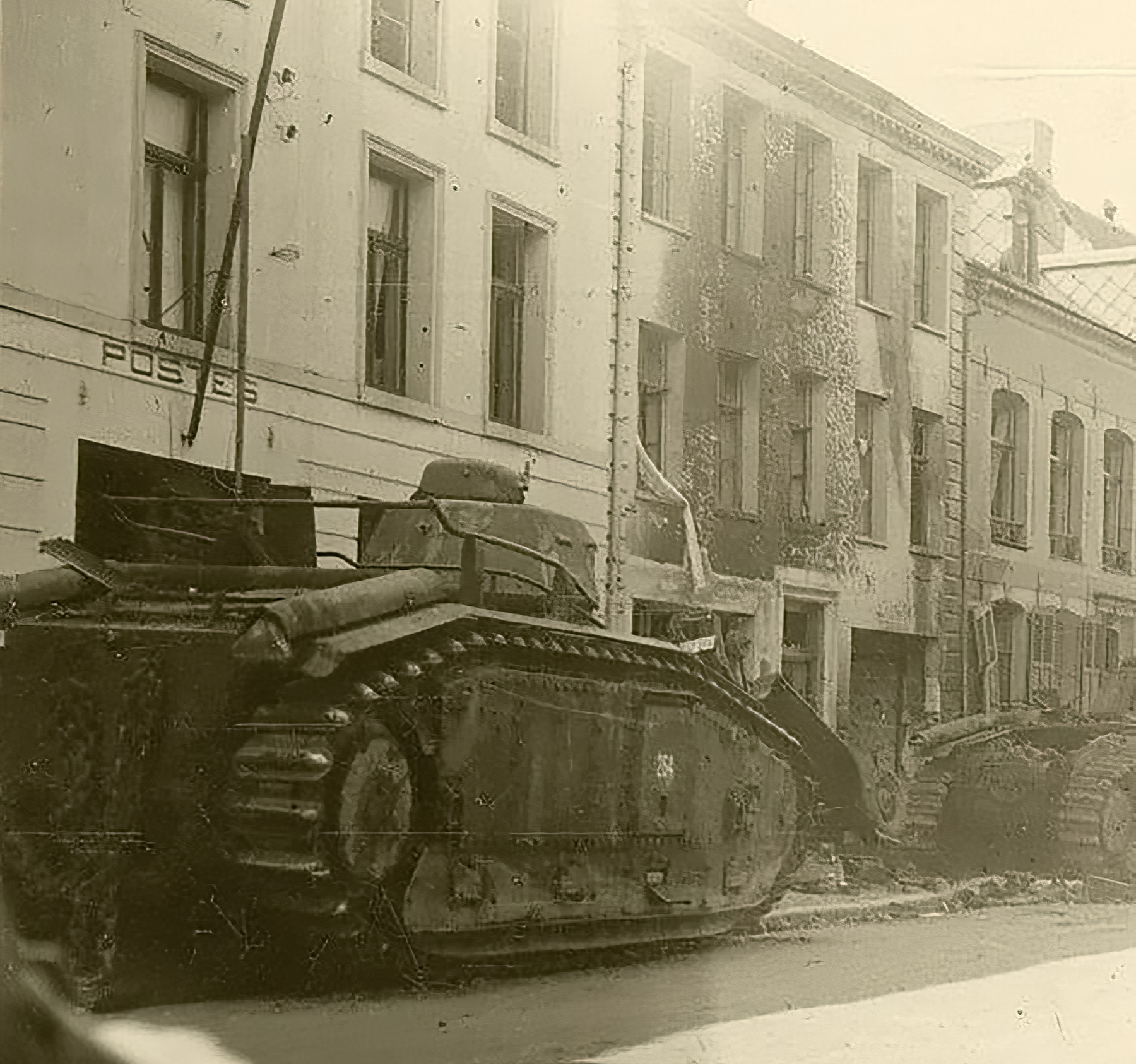 French Army Renault Char B1 White 254 knocked out during the battle of France 1940 ebay 01