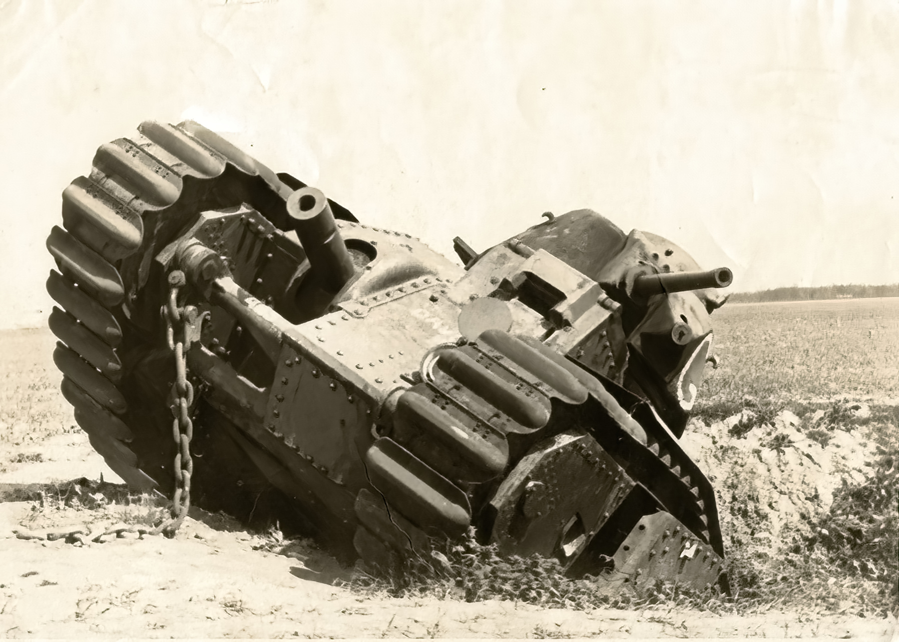 French Army Renault Char B1 White G abandoned during the battle of France 1940 ebay 01