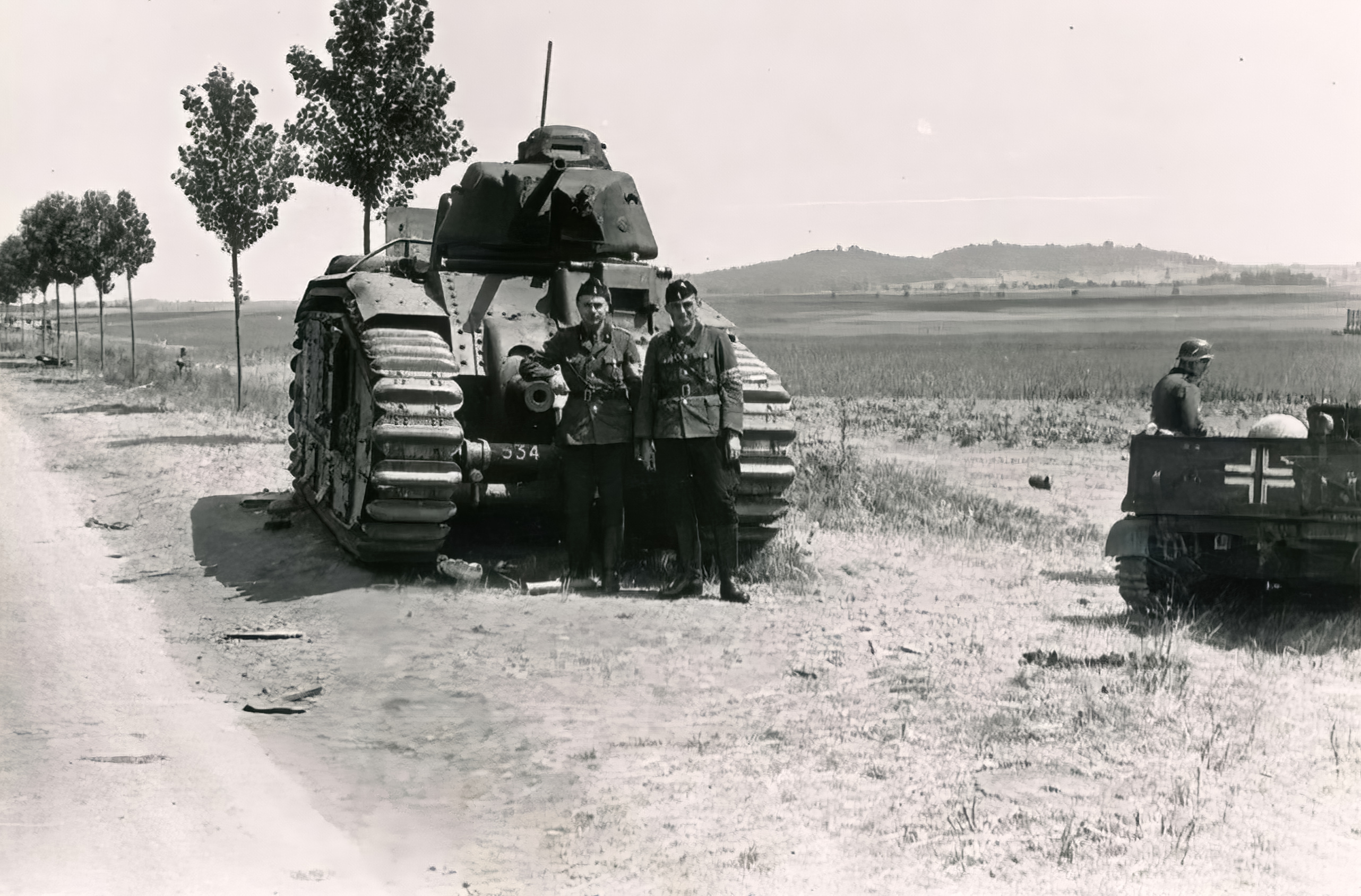 French Army Renault Char B1 captured during the battle of France 1940 ebay 02