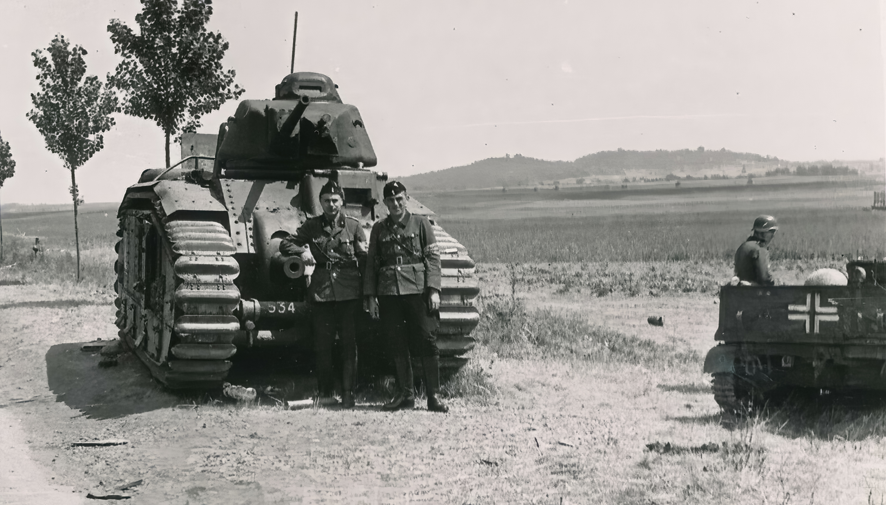 French Army Renault Char B1 captured during the battle of France 1940 ebay 03