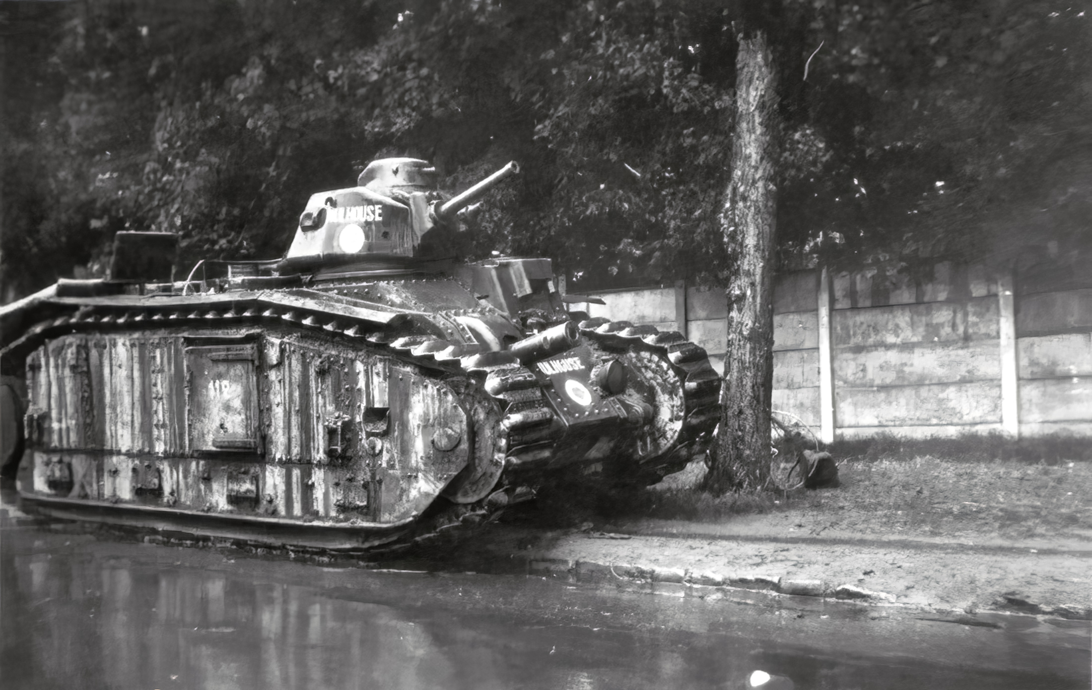 French Army Renault Char B1 named Mulhouse captured during the battle of France 1940 ebay 01