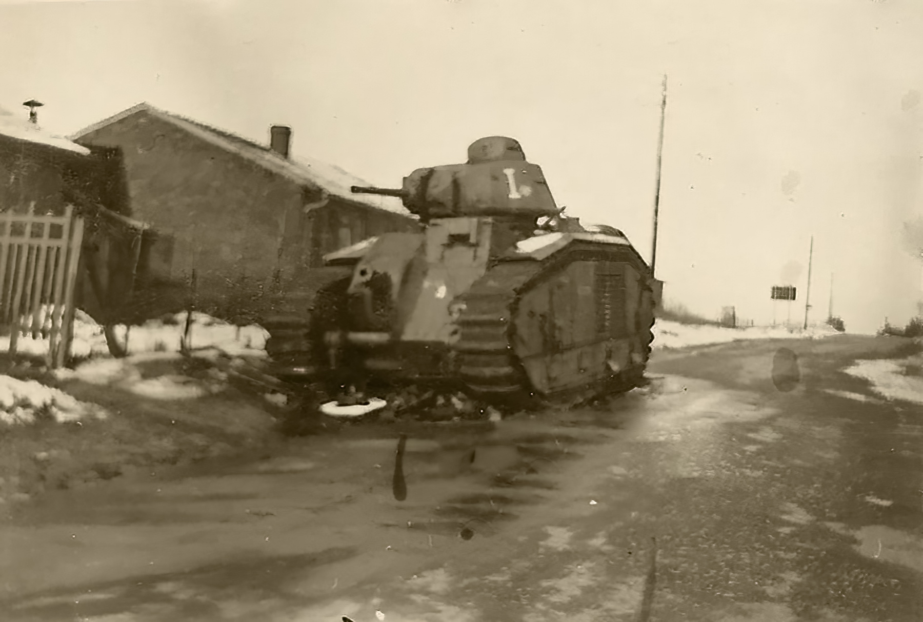 French Army Renault Char B1bis White I during the battle of France 1940 ebay 01