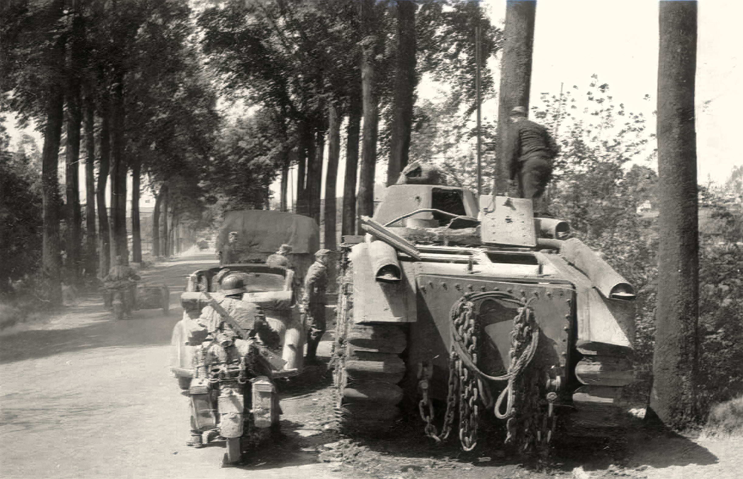 French Army Renault Char B1bis abandoned during the battle of France 1940 ebay 02