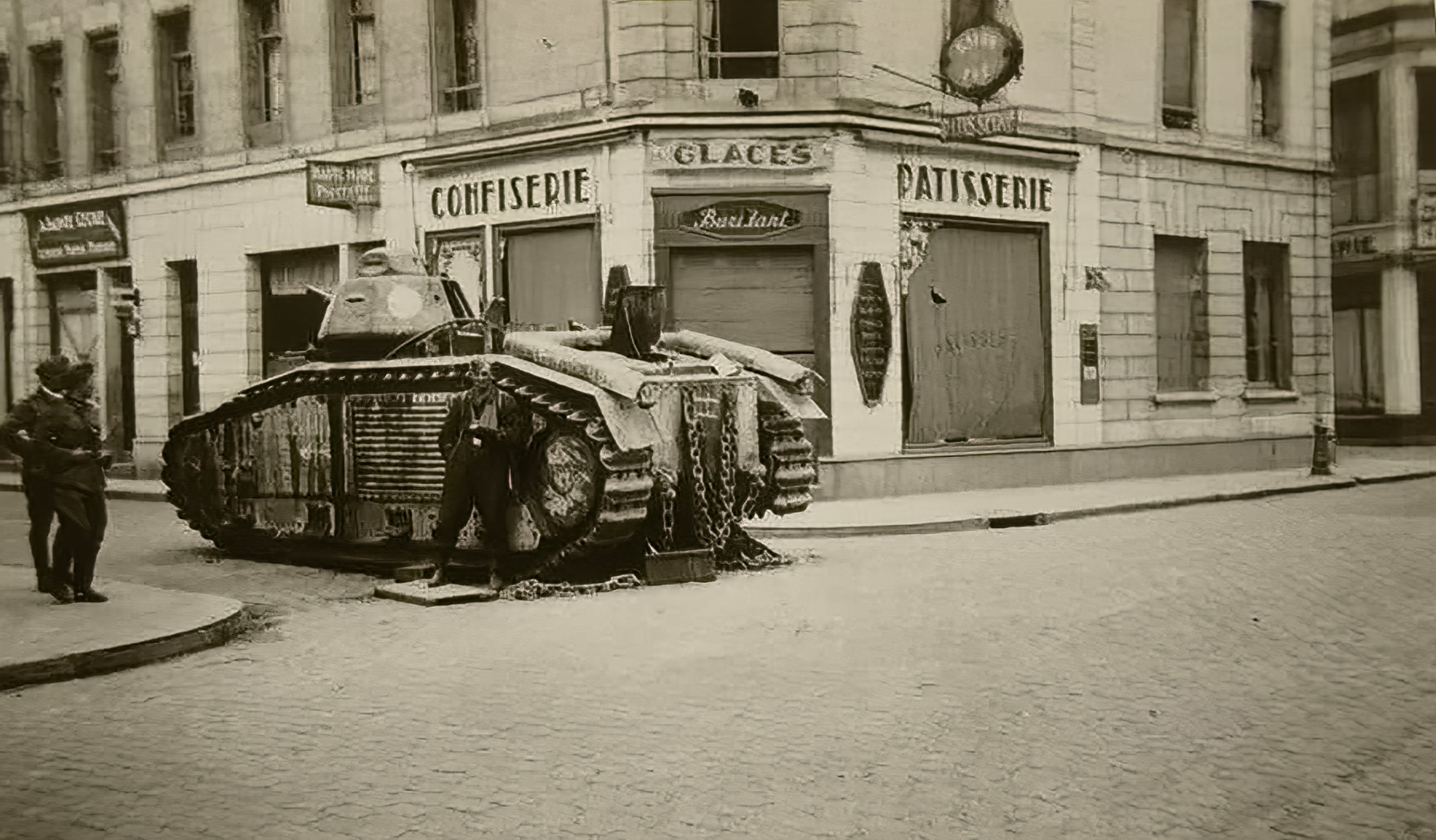 French Army Renault Char B1bis captured during the battle of France 1940 ebay 02