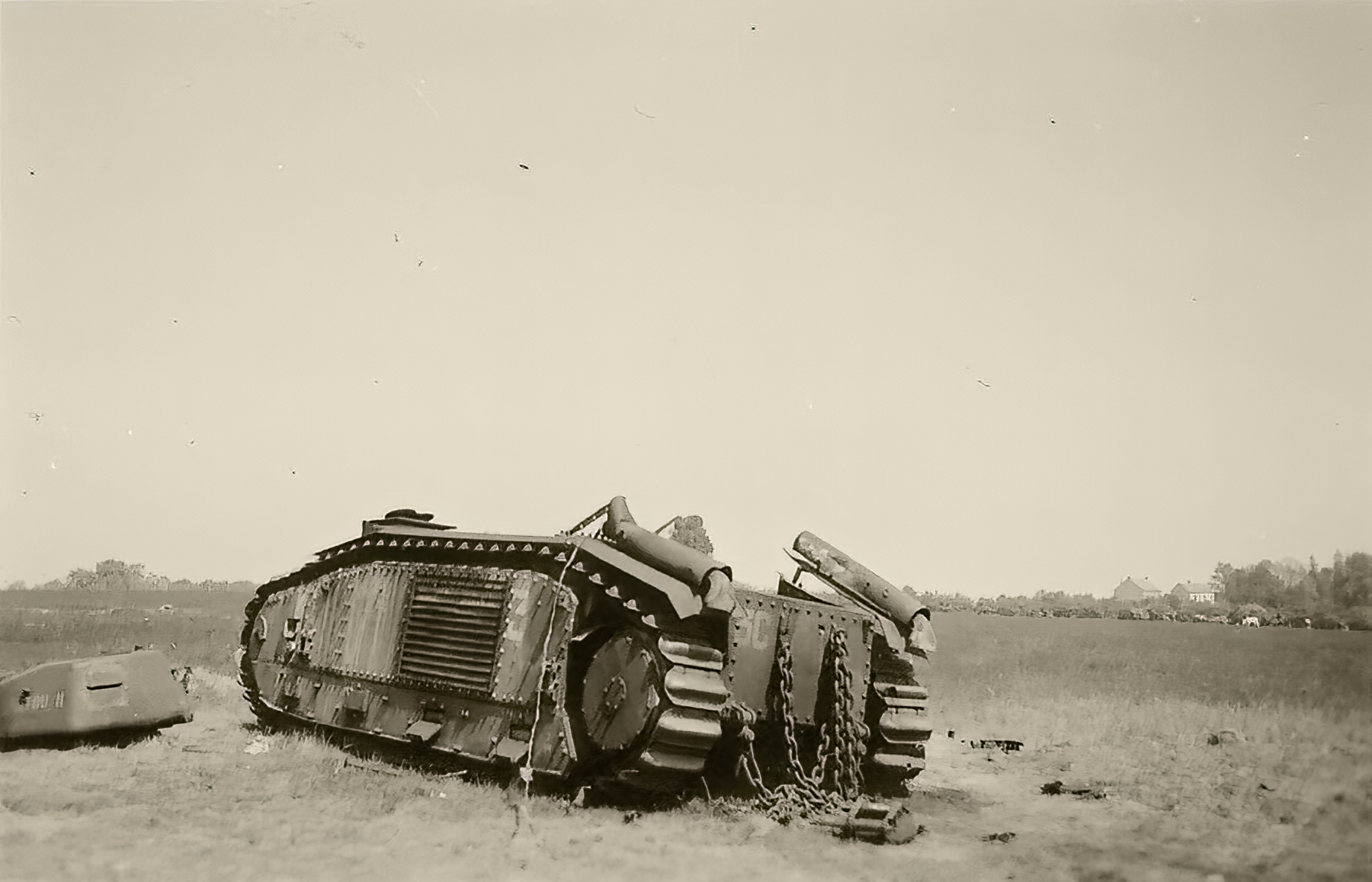 French Army Renault Char B1bis destroyed during the battle of France 1940 ebay 01