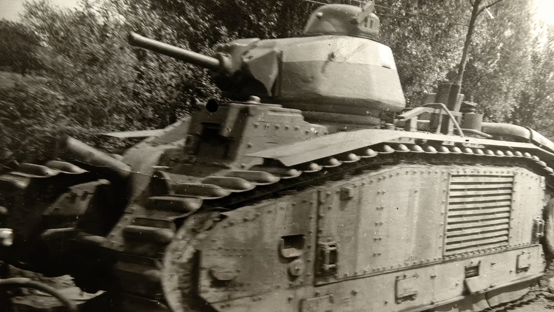 French Army Renault Char B1bis during the battle of France 1940 ebay 01