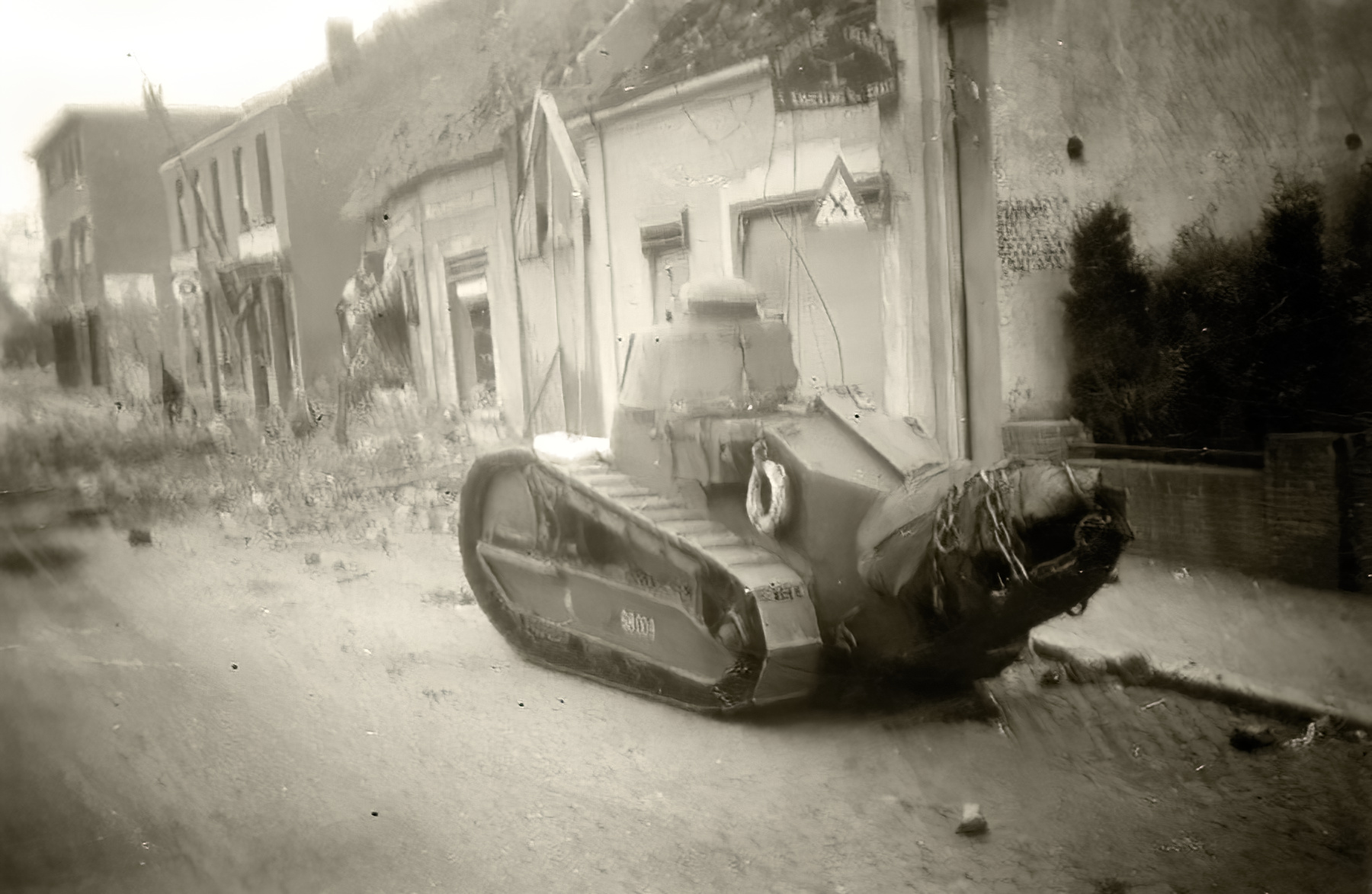 French Army Renault FT 17 captured in Belgium May 1940 ebay 01
