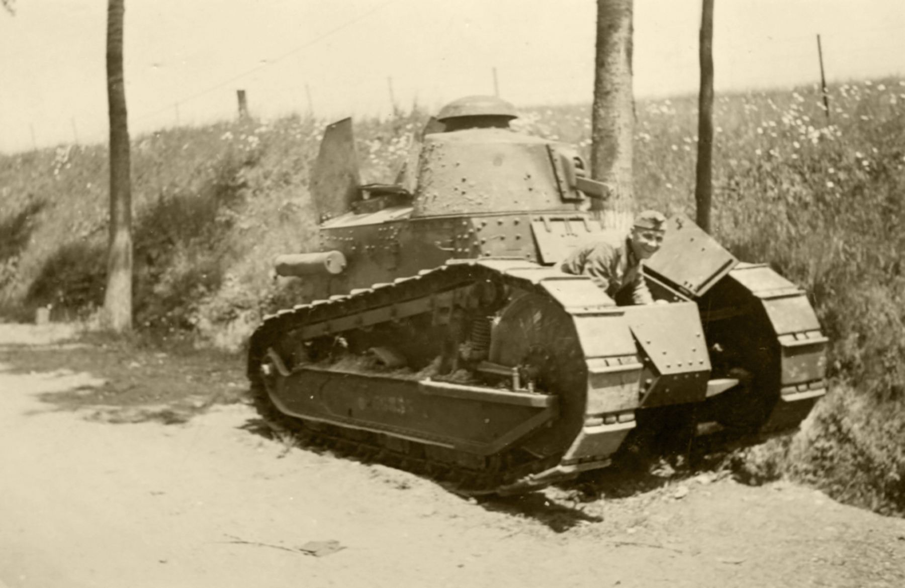French Army Renault FT 17 sn83208 captured during the Battle of France 1940 ebay 01
