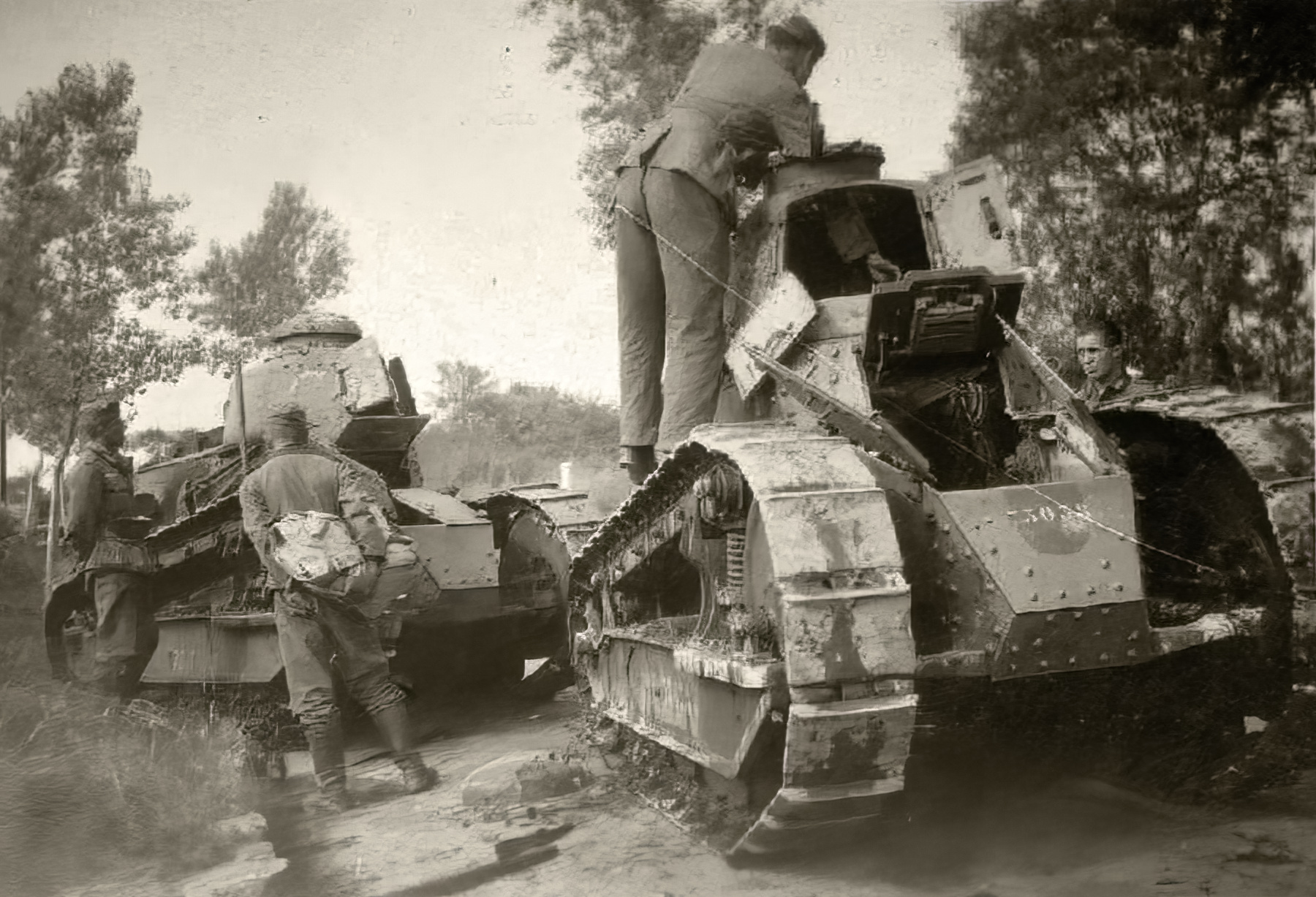 French Army Renault FT 17s captured during the Battle of France 1940 ebay 03