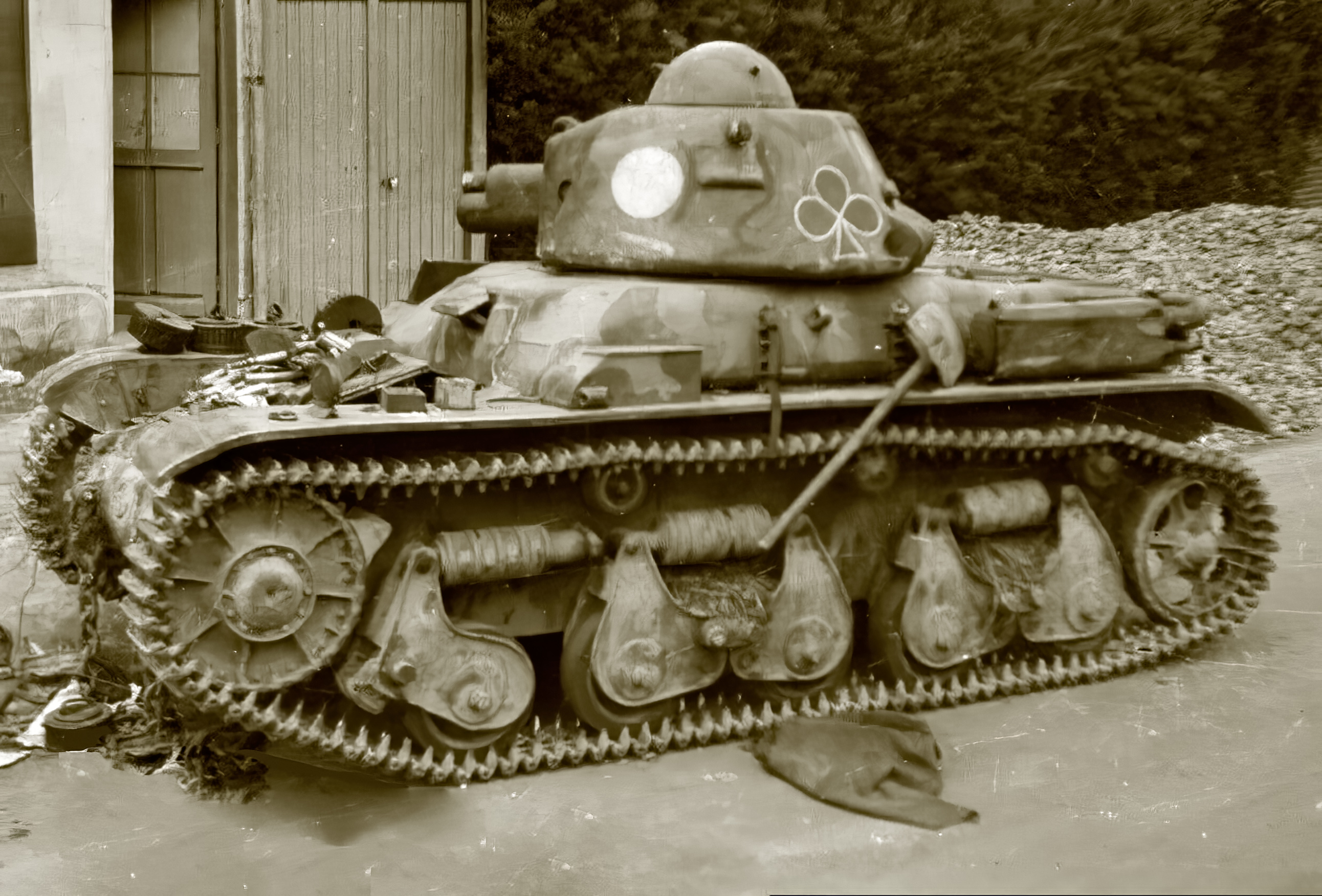 French Army Renault R35 support tank abandoned battle of France 1940 ebay 06