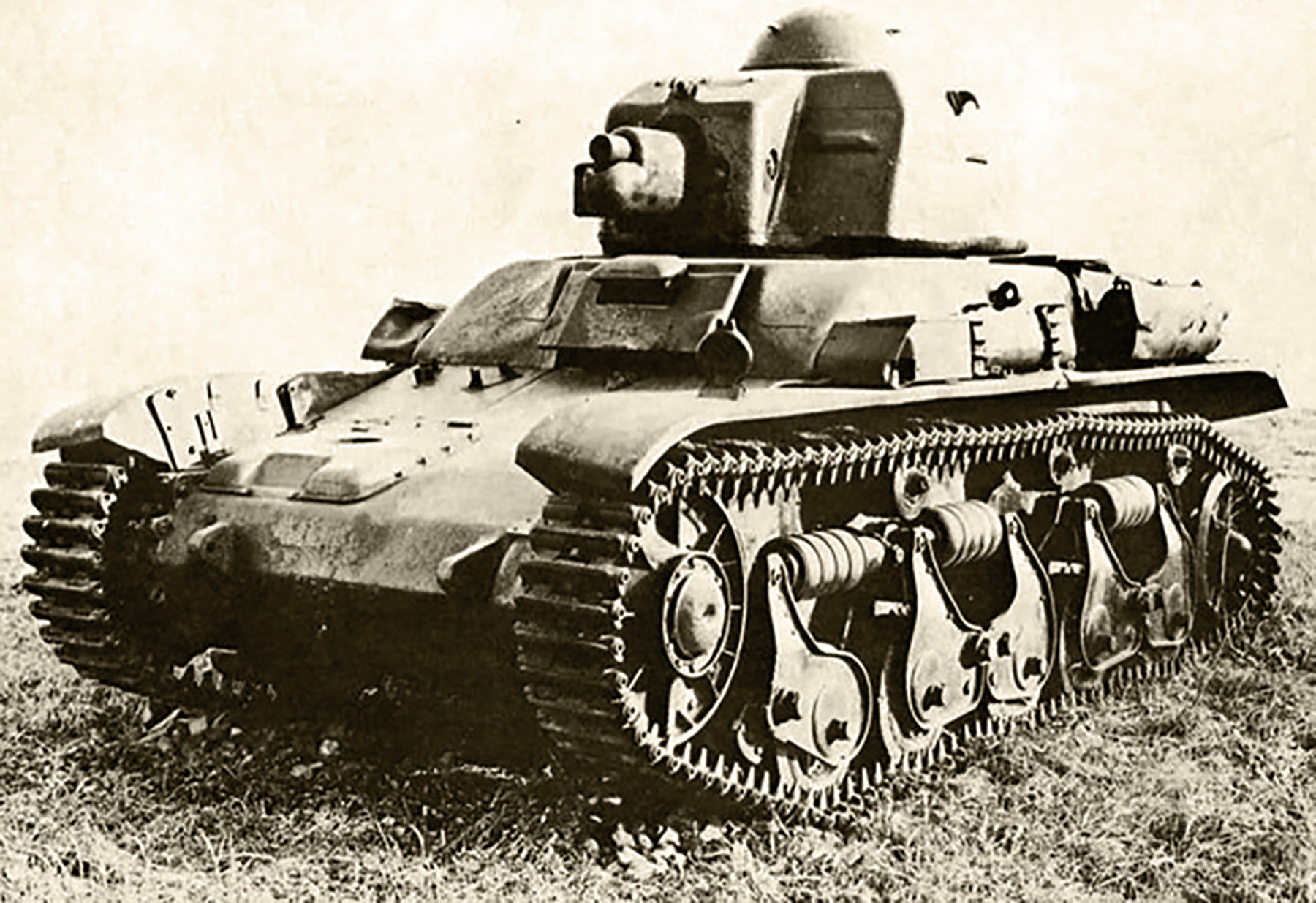 French Army Renault R35 support tank battle of France 1940 web 01