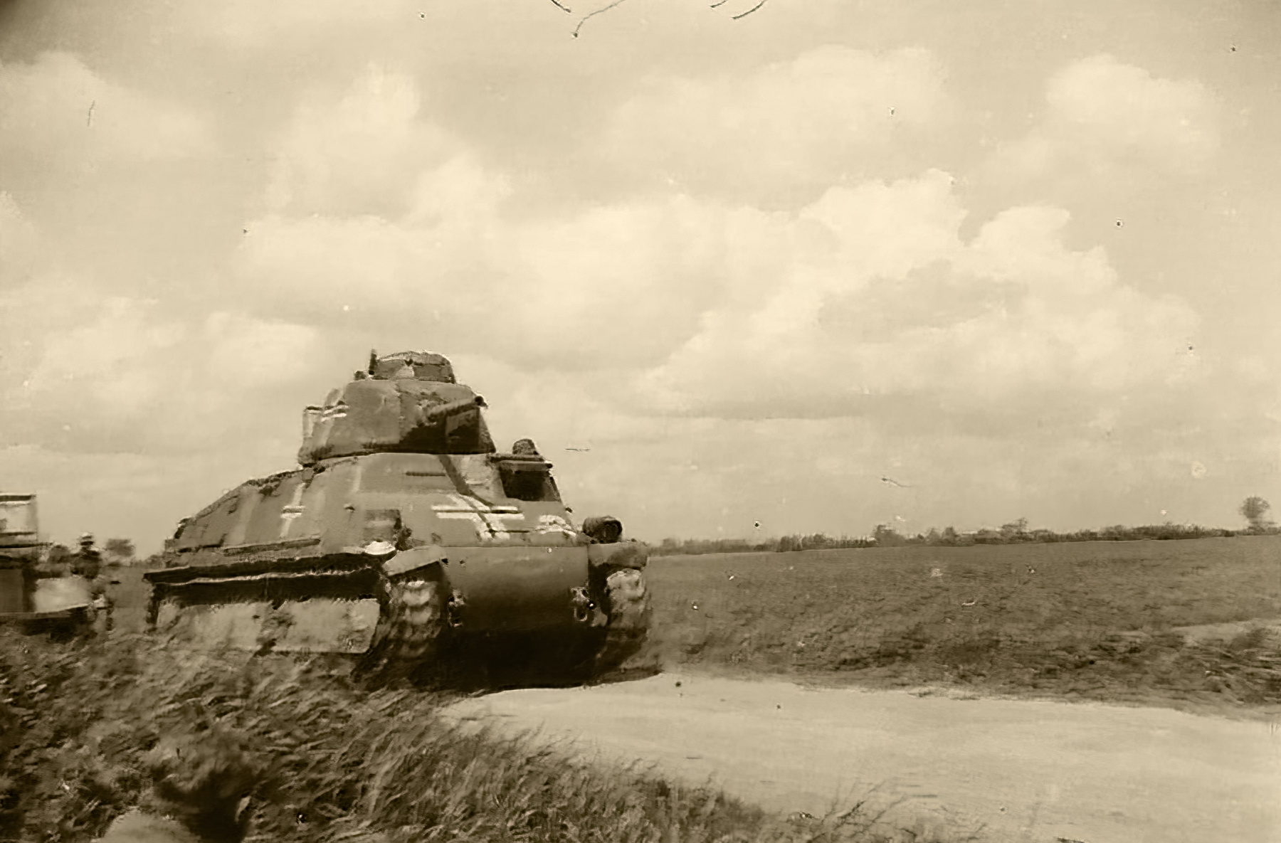 French built Somua S35 in use with Waffen SS Totenkopf France 1940 ebay 01